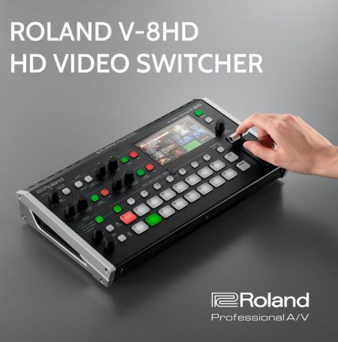 New! Roland V-8HD Vision Mixer