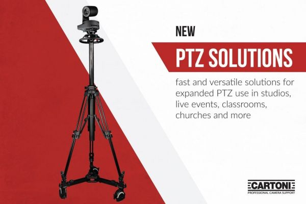 New PTZ Solutions from Cartoni
